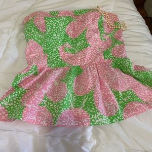 Lilly Pulitzer peplum top!